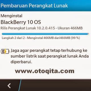Cara Update BlackBerry OS 10