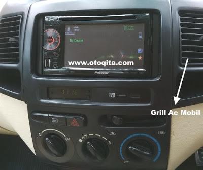 Gambar grill ac di dashboard