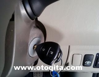 Kunci remote kijang Innova E