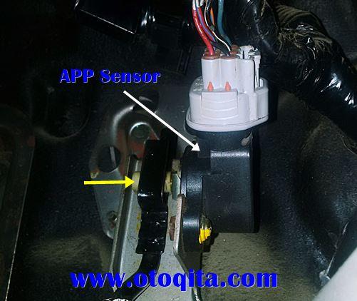App sensor nissan xtrail