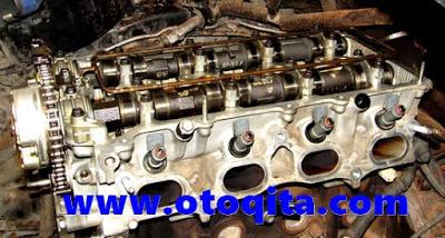 Silinder head kijang innova bensin mesin 1tr-fe