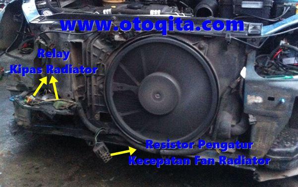 Gambar kipas kondensor dan radiator peugeot 206
